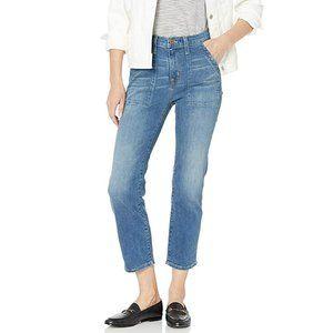 "J. Crew 9"" High Rise Utility Skinny Jeans 24"